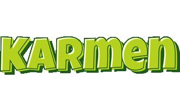 Karmen summer logo