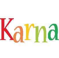 Karna birthday logo