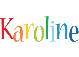 Karoline birthday logo