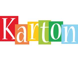 Karton colors logo