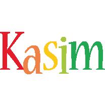 Kasim birthday logo