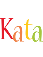Kata birthday logo