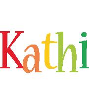 Kathi birthday logo