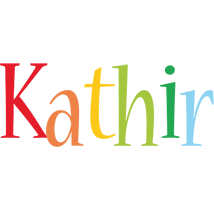 Kathir birthday logo