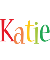Katie birthday logo