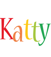 Katty birthday logo