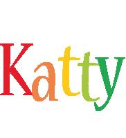 Katty birthday logo