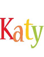 Katy birthday logo