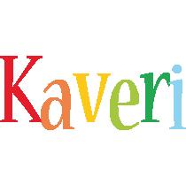 Kaveri birthday logo
