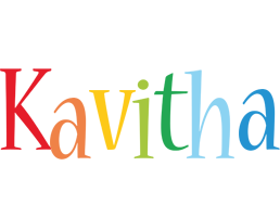 Kavitha birthday logo