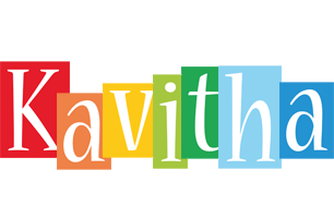 Kavitha colors logo