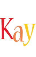Kay birthday logo
