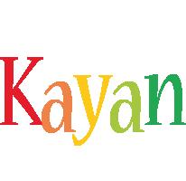 Kayan birthday logo