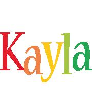 Kayla birthday logo