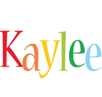Kaylee birthday logo