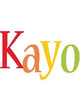 Kayo birthday logo