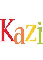 Kazi birthday logo