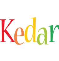 Kedar birthday logo