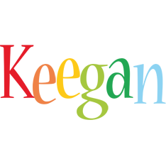 Keegan birthday logo