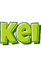Kei summer logo