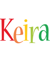 Keira birthday logo