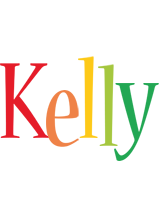 Kelly birthday logo