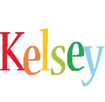Kelsey birthday logo