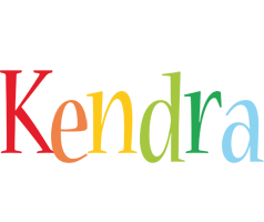 Kendra birthday logo