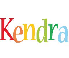 Kendra birthday logo