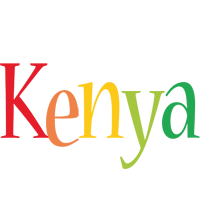 Kenya birthday logo
