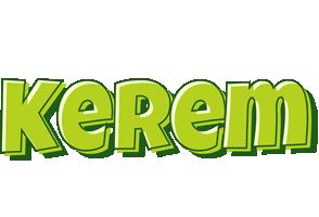 Kerem summer logo