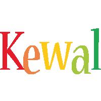 Kewal birthday logo