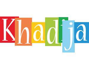 Khadija colors logo