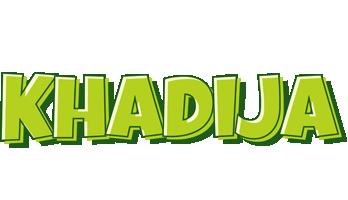 Khadija summer logo