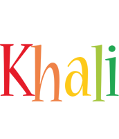 Khali birthday logo