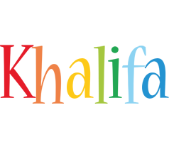 Khalifa birthday logo