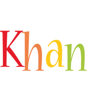 Khan birthday logo