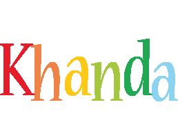 Khanda birthday logo