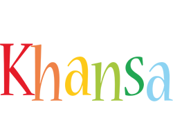 Khansa birthday logo