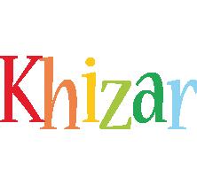 Khizar birthday logo