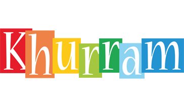 Khurram colors logo