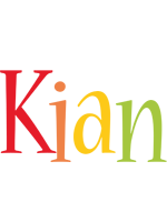 Kian birthday logo