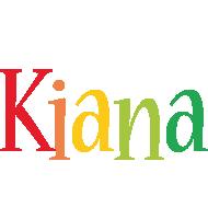 Kiana birthday logo
