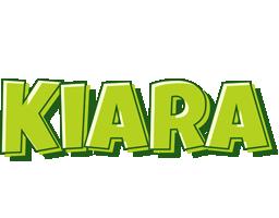 Kiara summer logo
