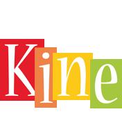 Kine colors logo