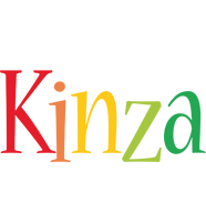 Kinza birthday logo