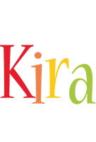 Kira birthday logo