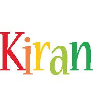 Kiran birthday logo