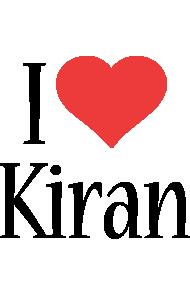 Kiran i-love logo