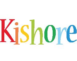 Kishore birthday logo
